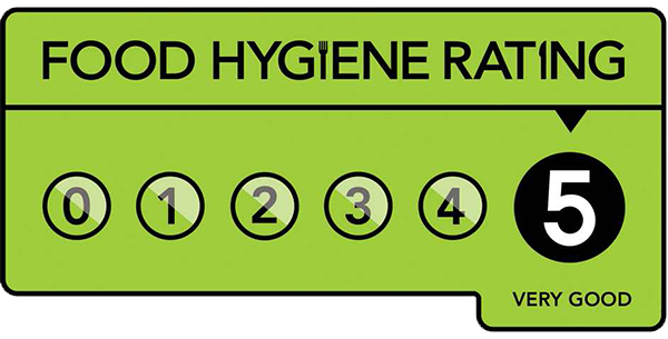 PEMBROKESHIRE B AND B RHOSTWARCH 5 STAR FOOD HYGIENE